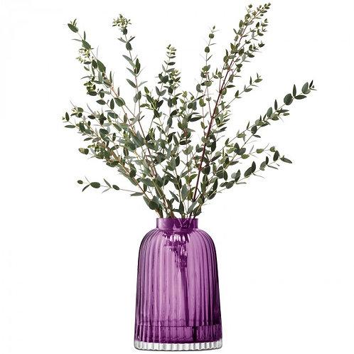 LSA(エルエスエー) フラワーベース(花器) Pleat Vase Heather 商品番号 LPT04 G1399-20-923