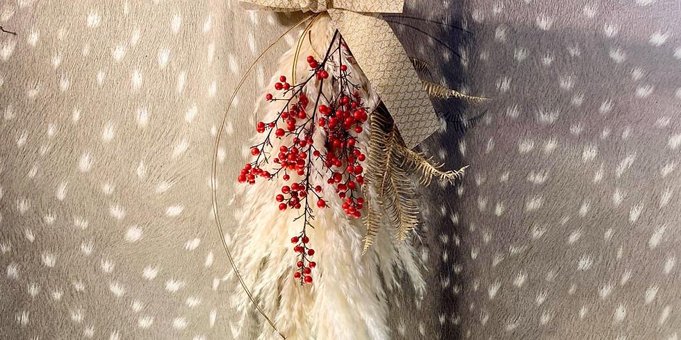 12月:特別レッスン お正月を迎えるアレンジメント&お正月飾り