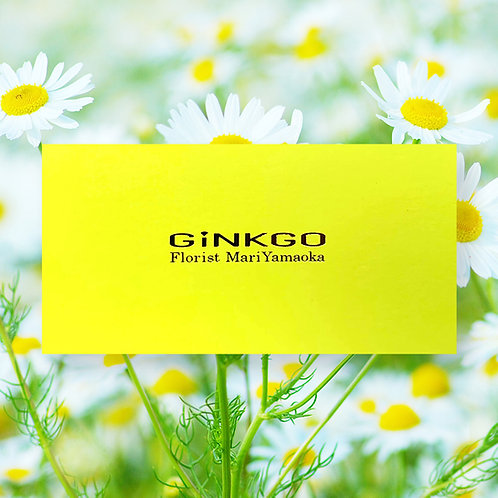 山岡セレクトの花活ギフトカード(2000円)