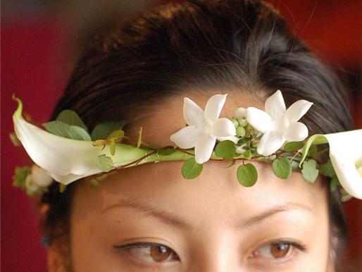 6月の花嫁ならではのお花