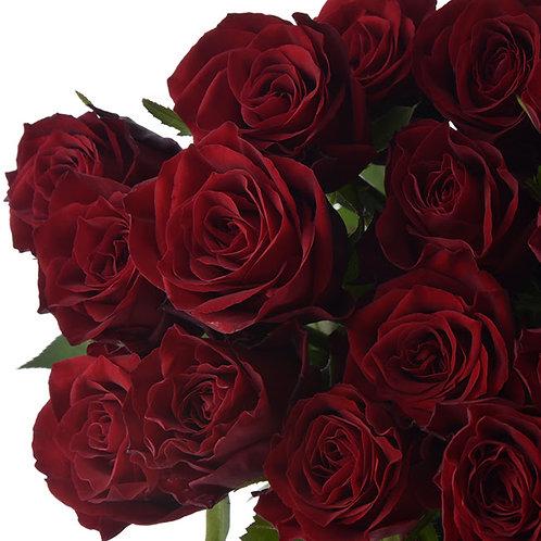 108本のバラを束ねたプロポーズブーケ