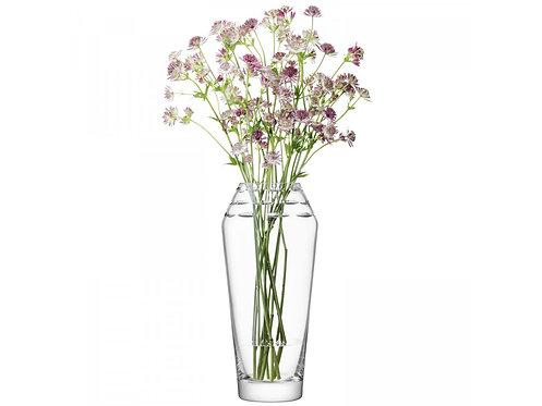 LSA(エルエスエー) フラワーベース(花器) Frieze Vase Clear / Cut 商品番号 LFF04 G1483-34-483
