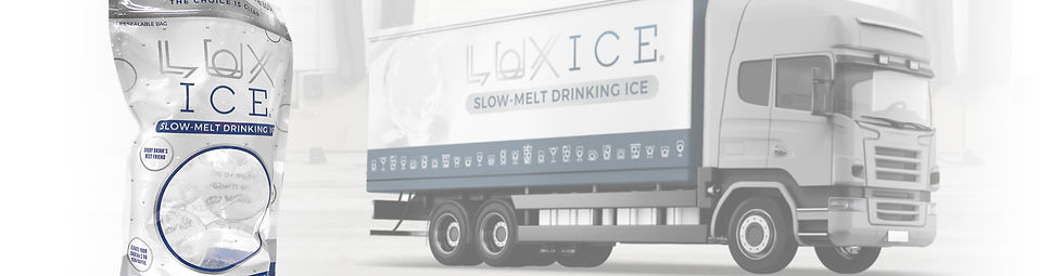 Lux Ice Distribution Truck