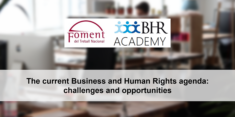 The current Business and Human Rights agenda: challenges and opportunities