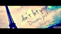Chase Dreams, Not Boys