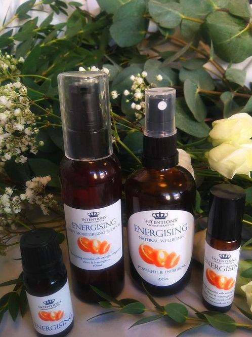Energising Body Oil