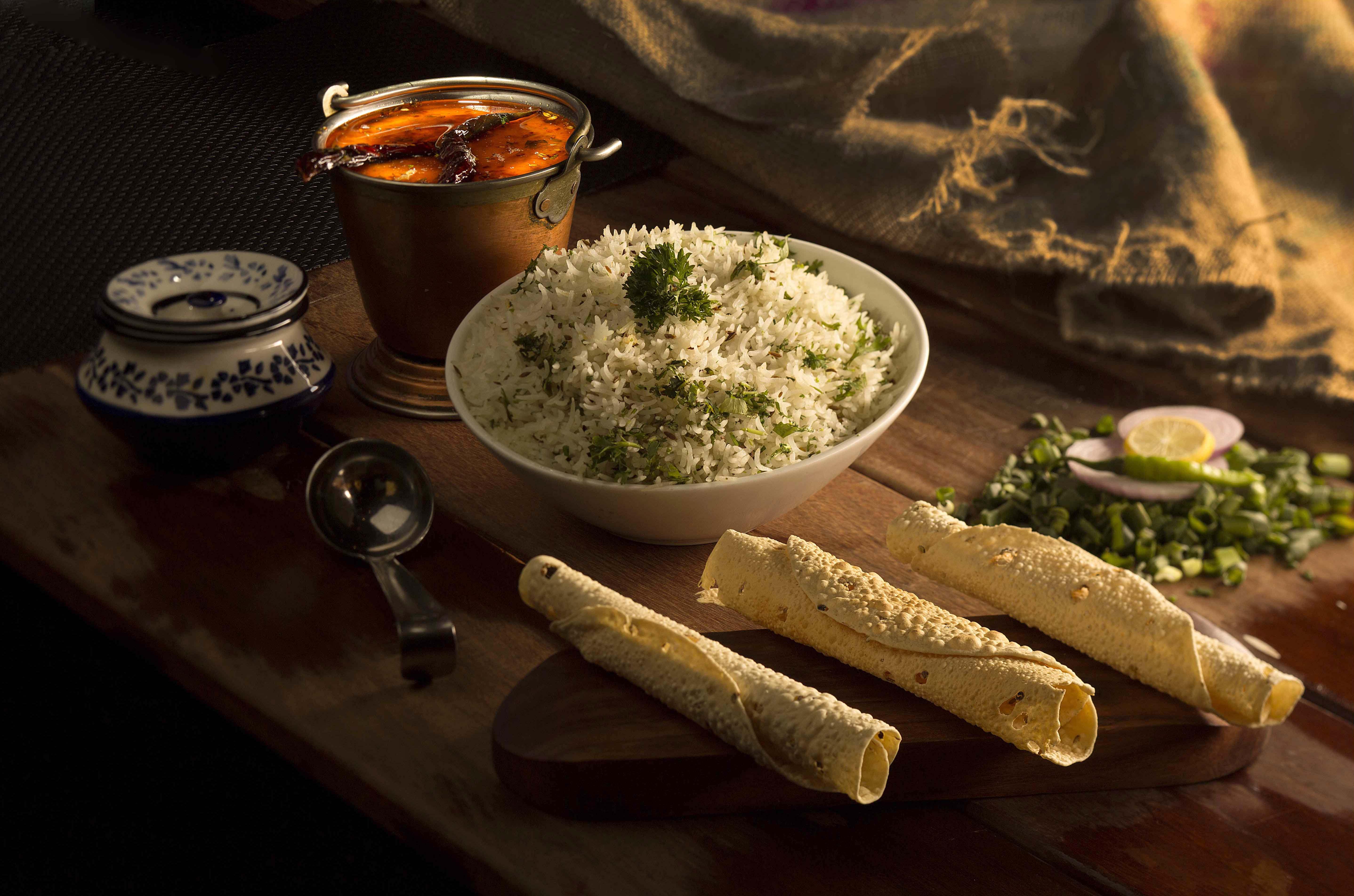 dal tadaka rice
