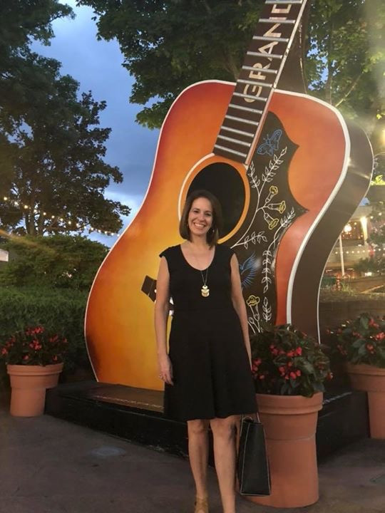 Laurie Winckel at the Grand Old Opry