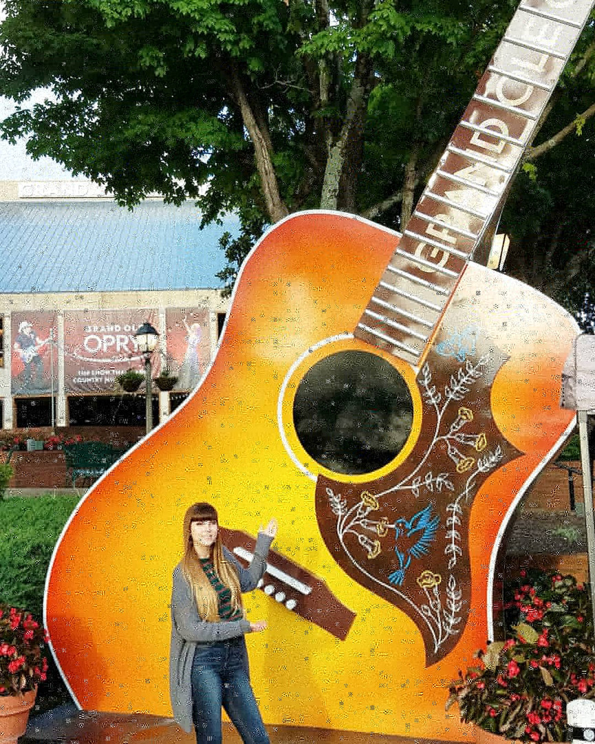 Kat Whitlock at the Grand Old Opry, Nashville