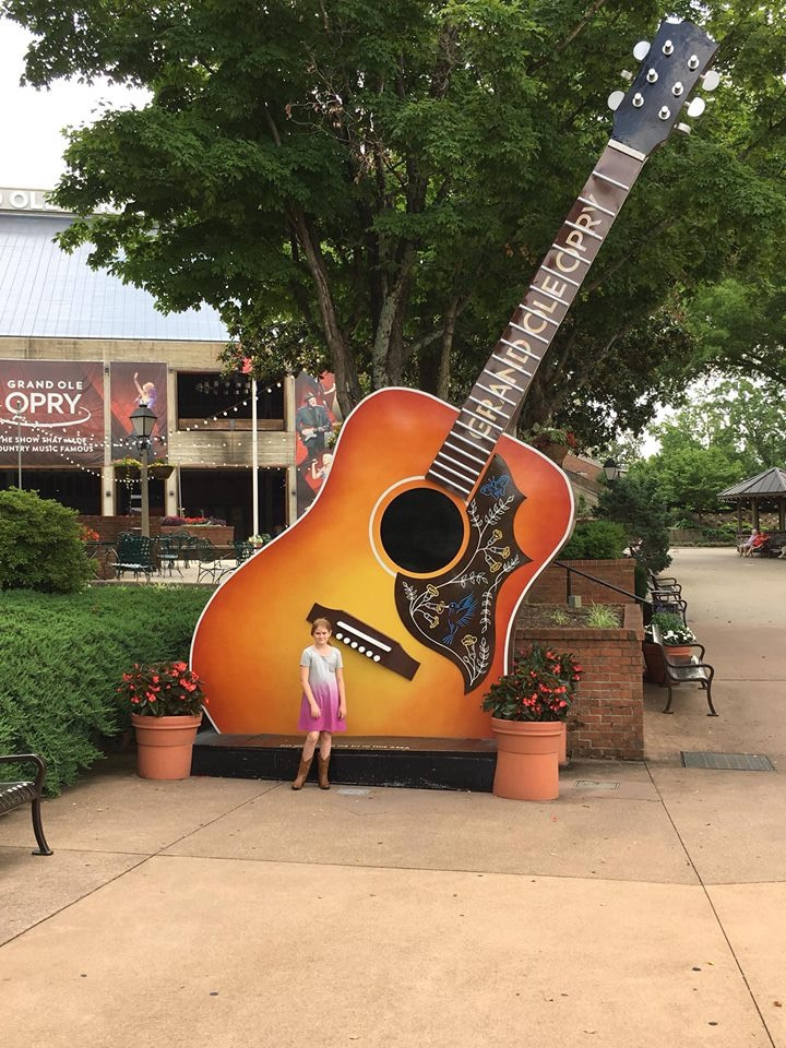 Lucy Welch at the Grand Old Opry, Nashville