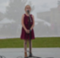 Youth Singer sings Disney songs