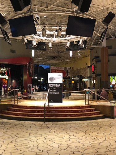 PCG Universal Stage at Opry Mills Mall in Nashville, TX