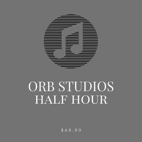 ORB STUDIOS Private Voice Lesson - 1/2 hour