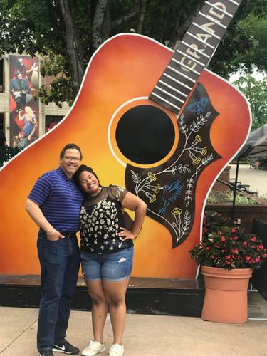 Michaela Watson at Grand Ole Opry in Nashville