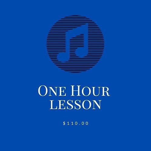 Private Voice Lesson - 1 hour