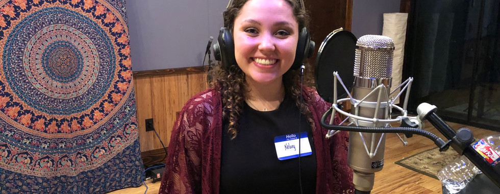Studio Recording/Kelsey