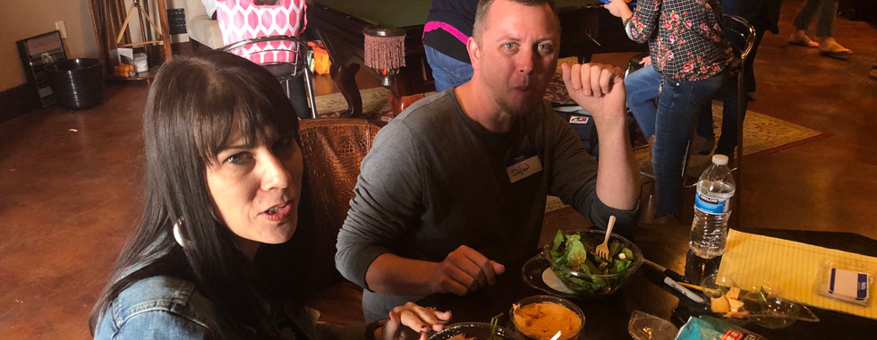 Lunch at PCG Workshop/Laina and Dylan -