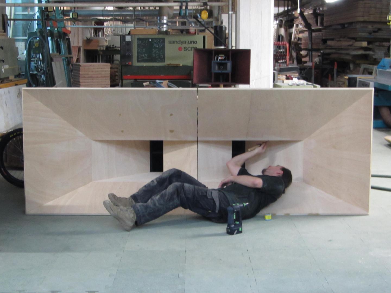 Soundverstärker aus Holz