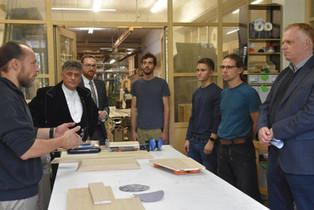 Handwerkskammer, Innung und Kreishandwerkerschaft zu Besuch