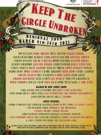 Keep The Circle Unbroken Tour