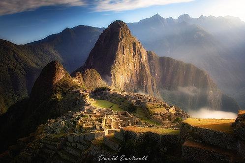 Sunrise over Machu Pichu - Peru