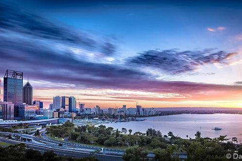 Perth City Sunrise - Perth - WA