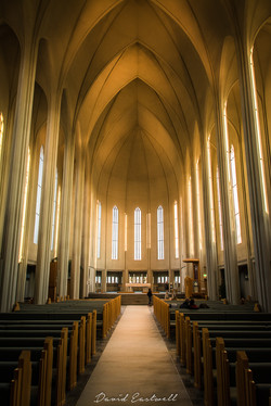 Iceland Cathedral Interior