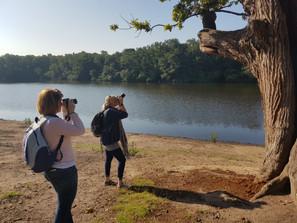 Beautiful morning photography lesson at Saville Garden