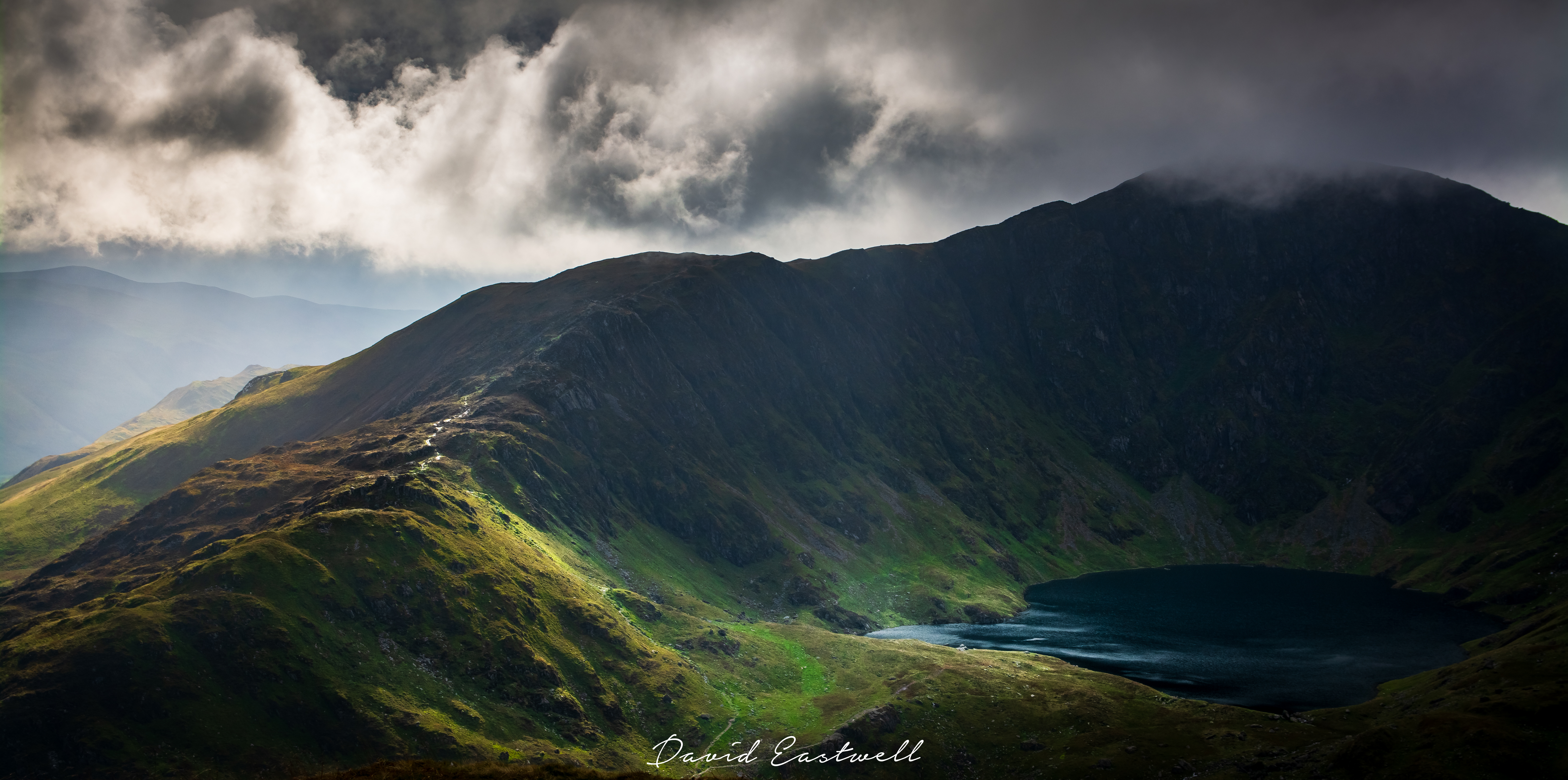 Wales,Stormy Sky over Cadair Idris 2