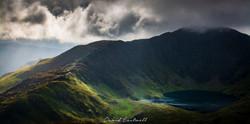 Wales,Stormy Sky over Cadair Idris 2