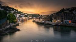 Looe Cornwall Sunset 2