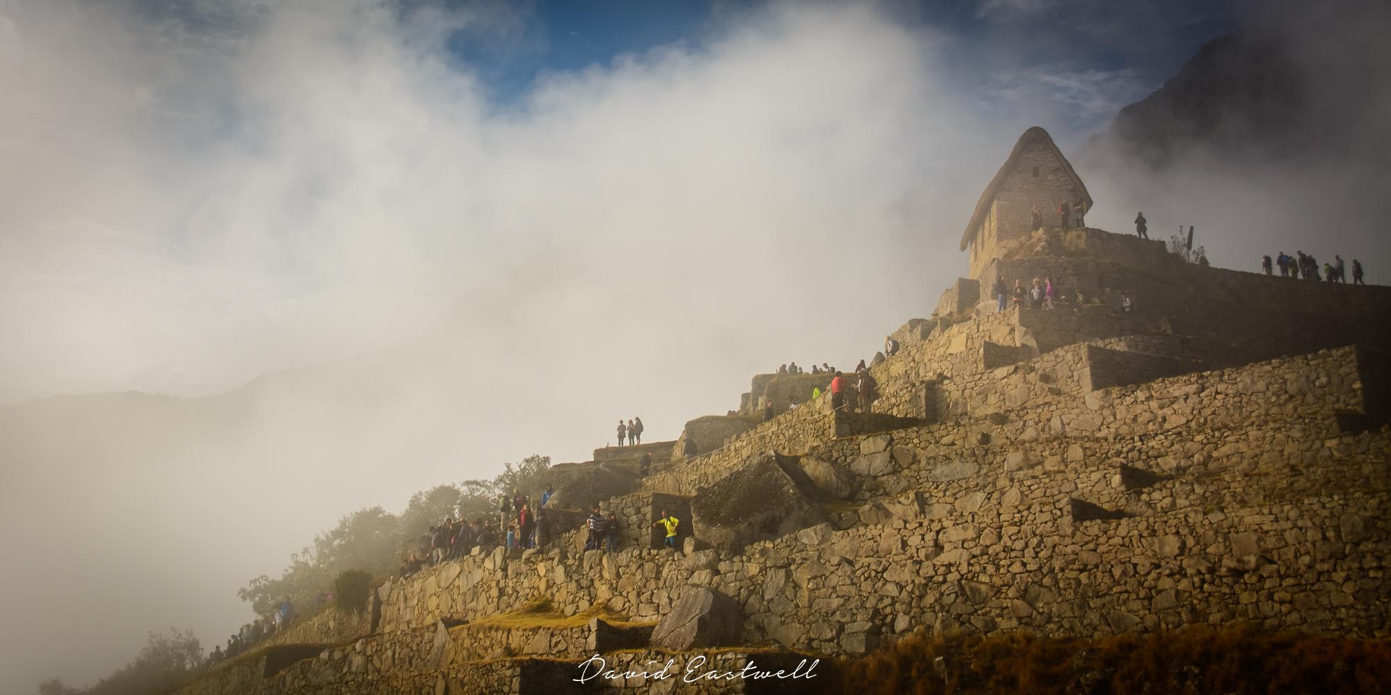 Mist over Machu Pichu