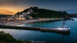 Looe Cornwall Sunset 1