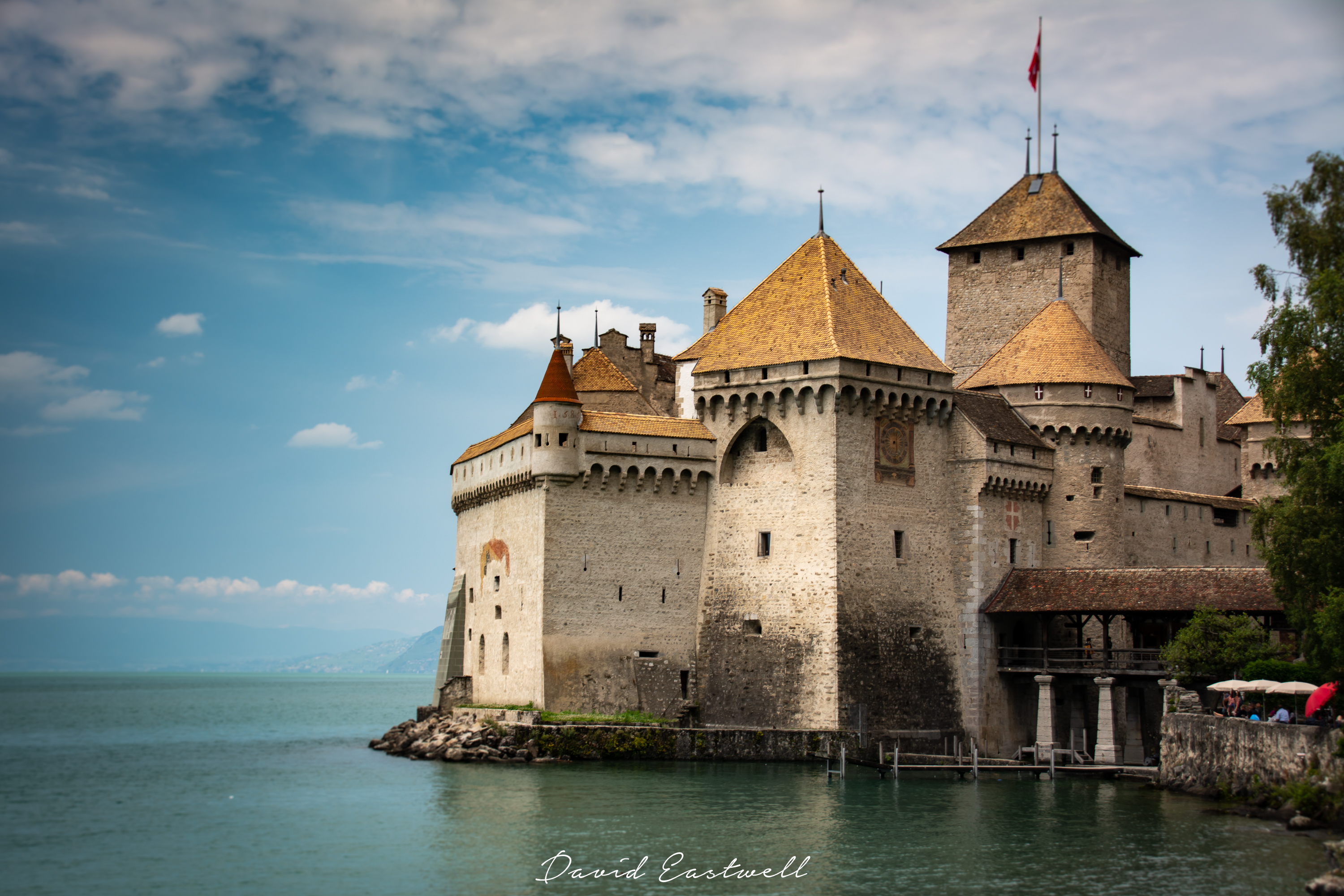 Chillon Castle Montreaux Switzerland