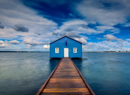 Shooting the boathouse