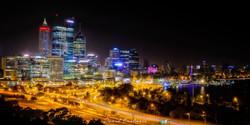 Perth City View at Night