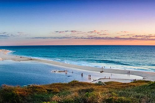 Moore River Sunset 1 Panorama - Perth - WA