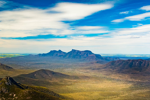 View from Mt Toolbranup - Panorama - WA