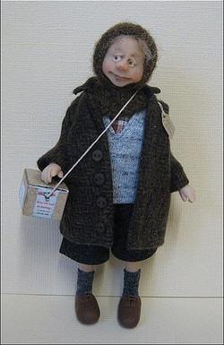 12th Scale Doll Evacuee ~ Boy