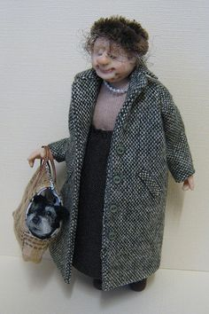 12th Scale Doll ~ Old Dear
