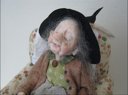12th Scale Sleeping witch