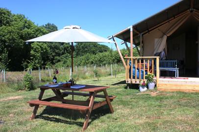 Rowan tent outdoor view