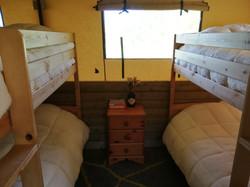 Beech double bunk room