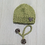 Thumbnail: Green Boucle Hat and Scarf Set