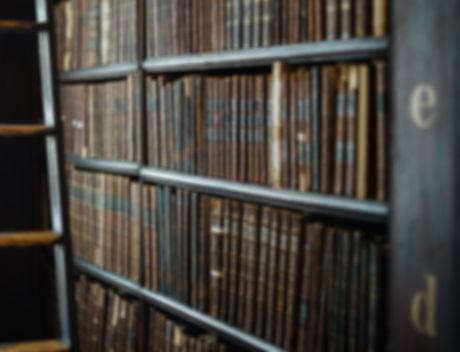 Leder gebundene Bücher