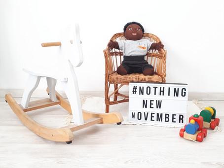 #BuyNothingNewNovember