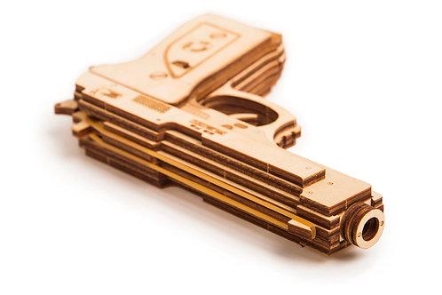 Gun - for rubber bands