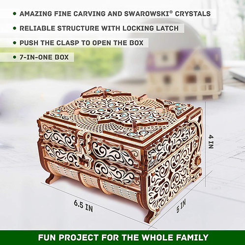 Treasure Box with Swarovski Crystals