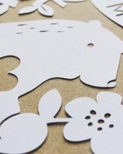 Papercut bear
