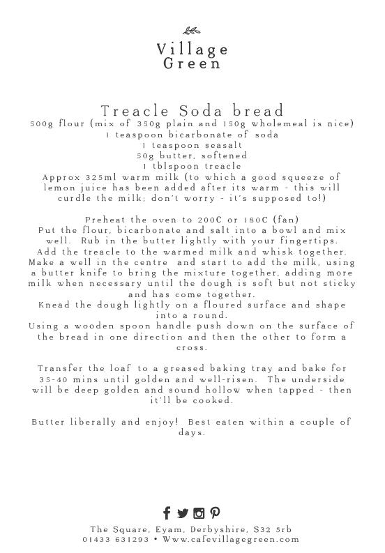 Treacle Soda bread